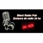 Logo da emissora Black Radio Pub On Line