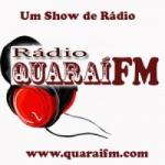 Logo da emissora Rádio Quarai FM