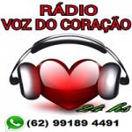 Logo da emissora Rádio Voz do Coração