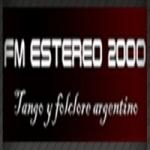 Logo da emissora Radio Estereo 2000