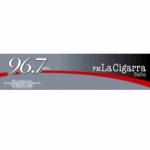 Logo da emissora Radio La Cigarra 96.7 FM