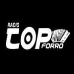 Logo da emissora Rádio top forró