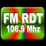 Logo da emissora Radio RDT 106.9 FM