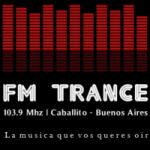 Logo da emissora Radio Trance 103.9 FM