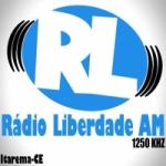Logo da emissora Rádio Liberdade 1250 AM