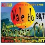 Logo da emissora Rádio Vale do Araguaia 98.7 FM