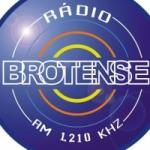 Logo da emissora Rádio Brotense de Porecatu 1210 AM