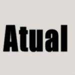 Logo da emissora Atual Web Rádio