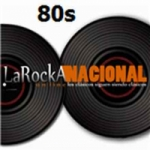 Logo da emissora Radio La Rocka 80s Nacional
