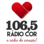 Logo da emissora Rádio Cor 106.5 FM