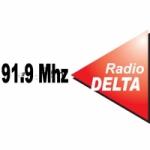 Logo da emissora Radio Delta 91.9 FM