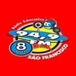 Logo da emissora Rádio São Francisco 94.9 FM