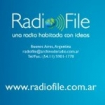 Logo da emissora Radio File