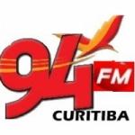 Logo da emissora Rádio 94 FM Curitiba
