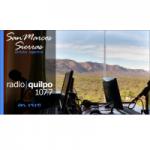 Logo da emissora Radio Quilpo 107.7 FM