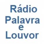 Logo da emissora Rádio Palavra e Louvor