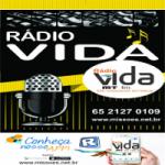 Logo da emissora Rádio Vida MT