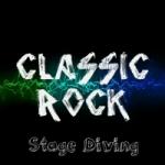 Logo da emissora Rádio Rock Stage Diving