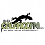 Logo da emissora Rádio Calango FM