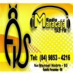 Logo da emissora Rádio Maracajá 104.9 FM