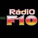 Logo da emissora Rádio F10
