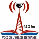 Logo da emissora Radio Bethanie 94.3 FM