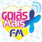 Logo da emissora Rádio Goiás Mais FM