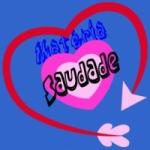 Logo da emissora Rádio Materia Saudade