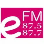 Logo da emissora Radio Daun Penh EFM 87.5 FM