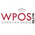 Logo da emissora WPOS 102.3 FM