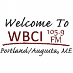 Logo da emissora Radio WBCI 105.9 FM