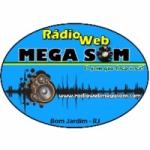 Logo da emissora Rádio Web Mega Som