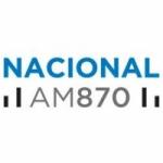 Logo da emissora Radio Nacional 870 AM