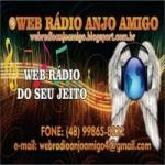 Logo da emissora Web Rádio Anjo Amigo