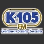 Logo da emissora WQXK 105.1 FM