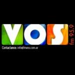 Logo da emissora Radio Vos 95.9 FM
