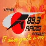 Logo da emissora Radio Parque 89.3 FM