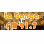 Logo da emissora Radio La Ganga 91.7 FM