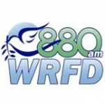 Logo da emissora WRFD 880 AM