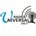 Logo da emissora Radio Universal 100.9 FM