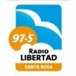 Logo da emissora Radio Libertad 97.5 FM