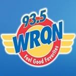 Logo da emissora WRQN 93.5 FM