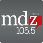 Logo da emissora Radio MDZ 105.5 FM
