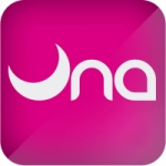 Logo da emissora Radio Una 96.1 FM