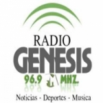 Logo da emissora Radio Genesis 96.9 FM