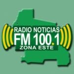 Logo da emissora Radio Noticias 100.1 FM