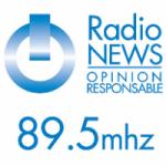Logo da emissora Radio News 89.5 FM