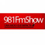 Logo da emissora Radio Show 98.1 FM