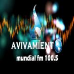 Logo da emissora Radio Avivamiento Mundial 100.5 FM
