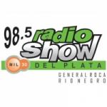Logo da emissora Radio Show 98.5 FM